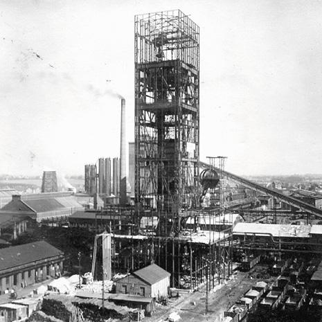 Der Bau in den 1920er Jahren