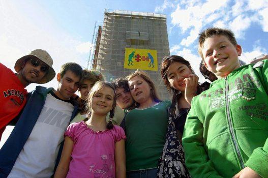 Die Welt zu Gast am Förderturm - ein Projekt des Goin