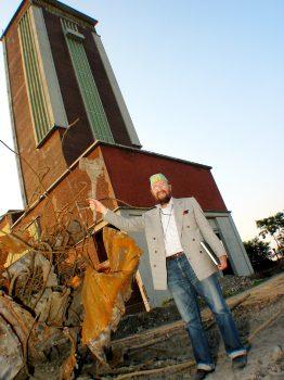 Der Malerfürst Ernst Fuchs war vom Turm begeistert