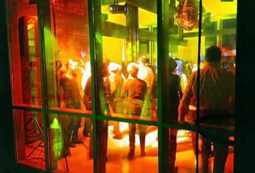 Party auf der beheizbaren 6-m-Ebene