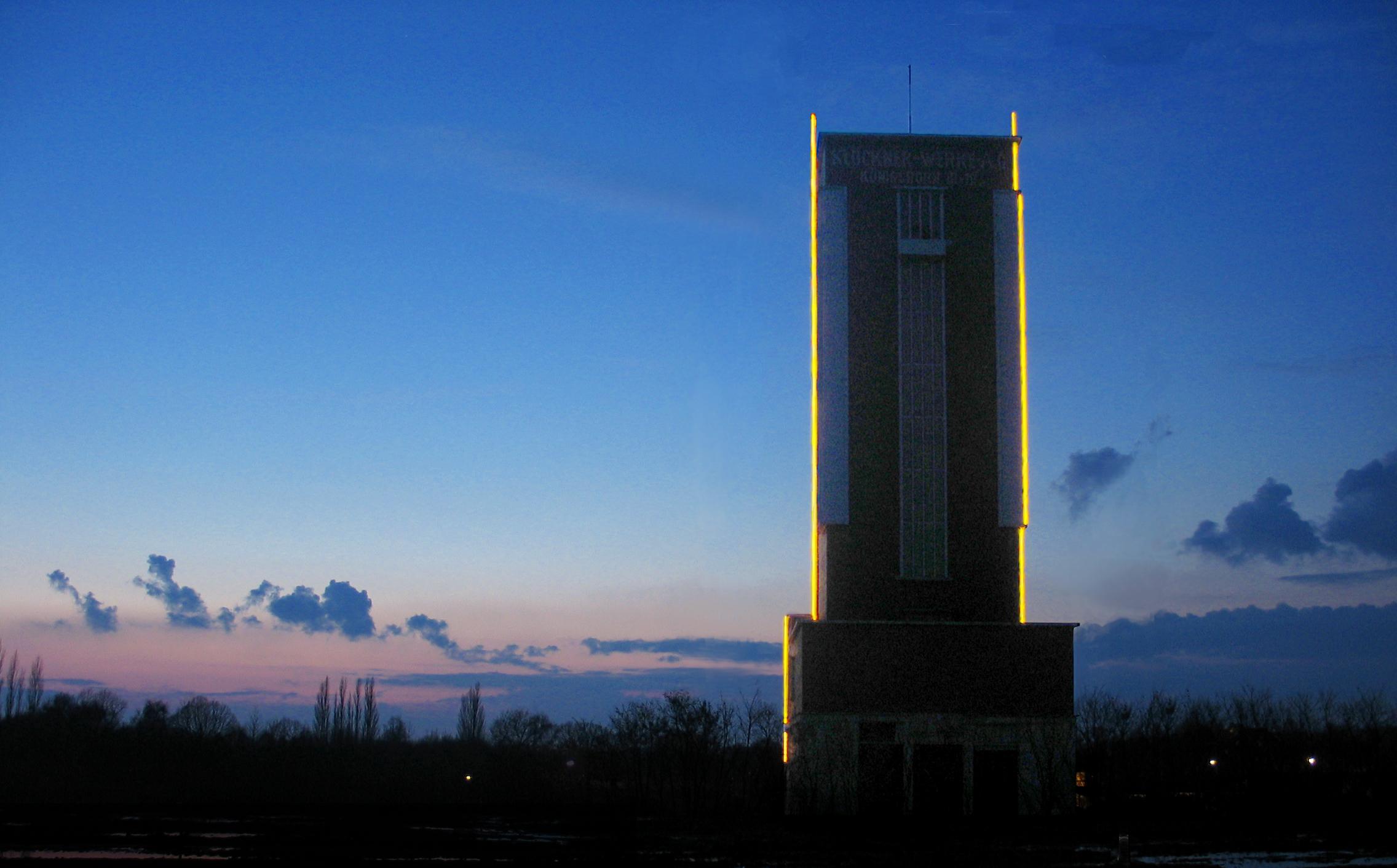 Yellow Marker - Ostpol Förderturm Bönen